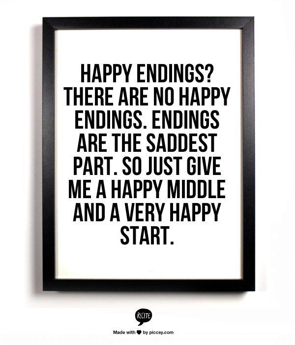sobre o fim