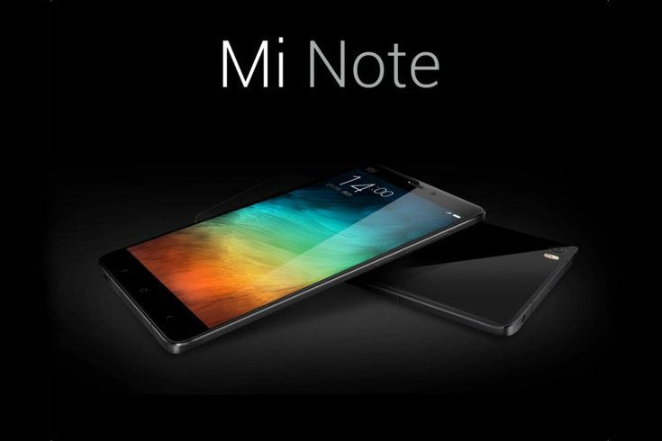 The Mi Note is a 6.95mm-thick smartphone with a 5.7-inch 1080p display