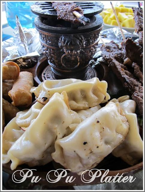Pu Pu Platter @Christina & DeWitt Hubbard Chocolat Home