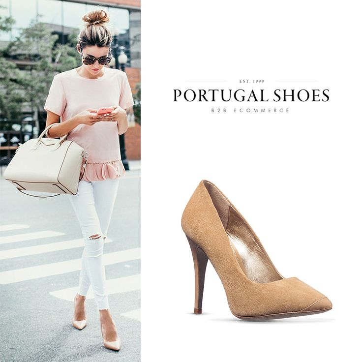 Nude Shoes: Always the right choice! My Maria Guimarães Heels: http://bit.ly/1SvAA51