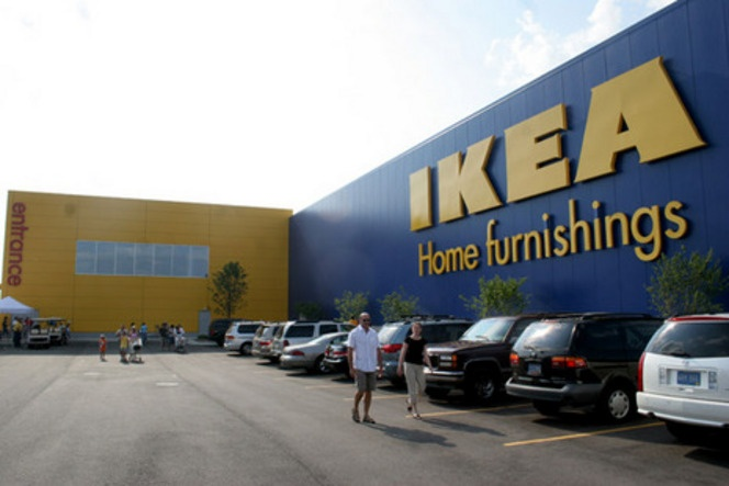 IKEA Home Furnishings in Canton, Michigan is currently Michigan's only IKEA store.