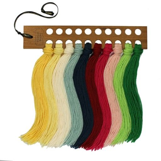Elizabeth Bradley | Needlepoint Kits Wooden Wool Organizer ...