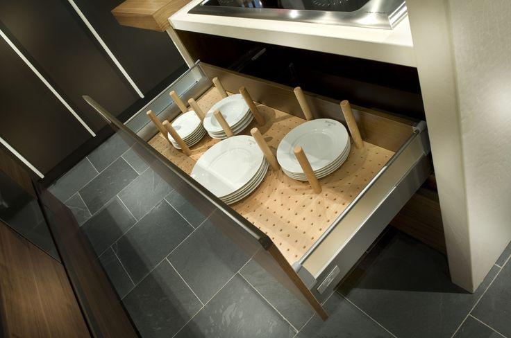 Armoires de cuisine tendances concept tiroir en h tre for Tendances concept