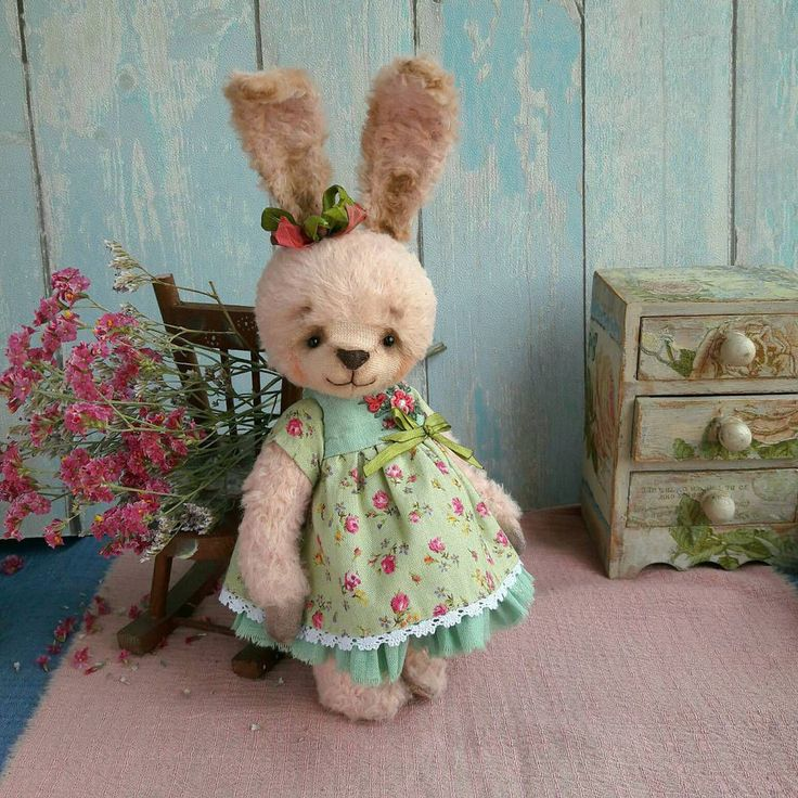 Teddy Hare | Тедди игрушка Розочка — работа дня на Ярмарке Мастеров