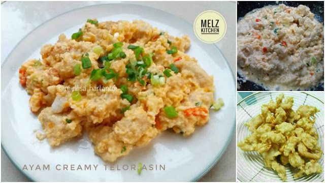 Ayam Creamy Telor Asin. Simple Tapi Enak! Super Yummy!