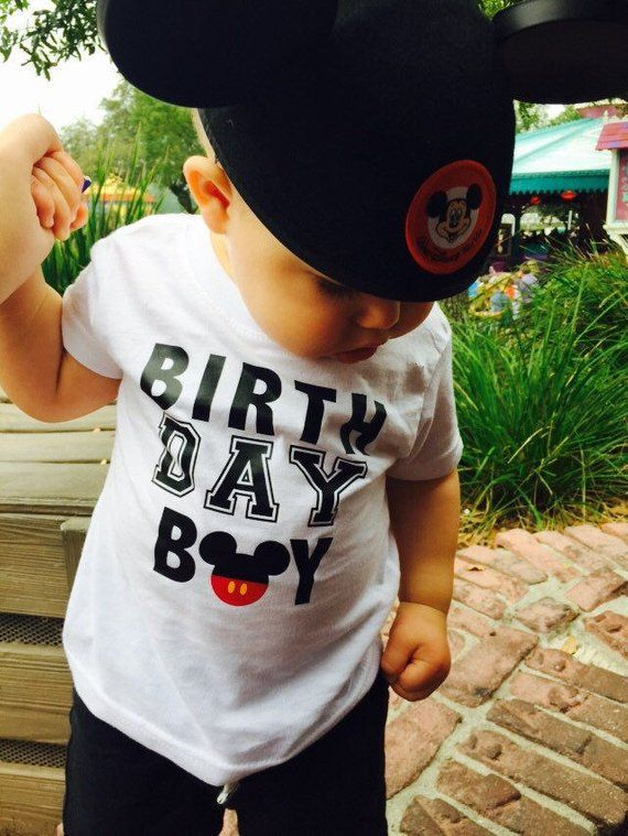 Mickey Mouse Birthday Boy Shirt Disney