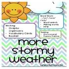 Weather Packet...  Includes:  -Word work cards for /or/ /orn/ /ork/  -Making words cards  -Vocabulary words & definition cards  -Story Excerpt ( flu...