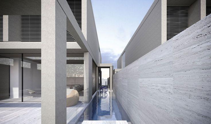 Toorak Townhouses | Conrad Architects