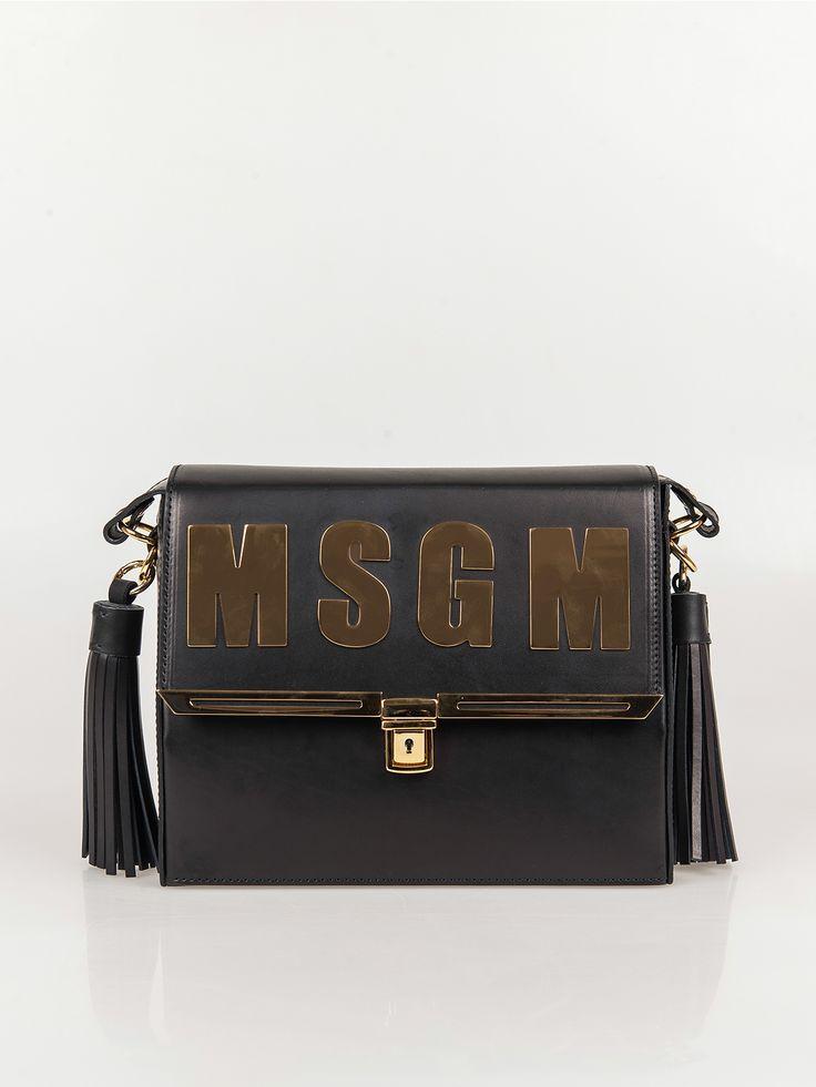 MSGM , MSGM Logo Messenger Çanta #shopigo#shopigono17#shoponline#womenswear#sneakers#MSGM