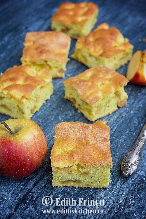 Prajitura pufoasa cu mere - oiprajitura rapida si delicioasa, extrem de pufoasa, cu mere. Poate fi facuta si cu pere, piersici,caise,struguri