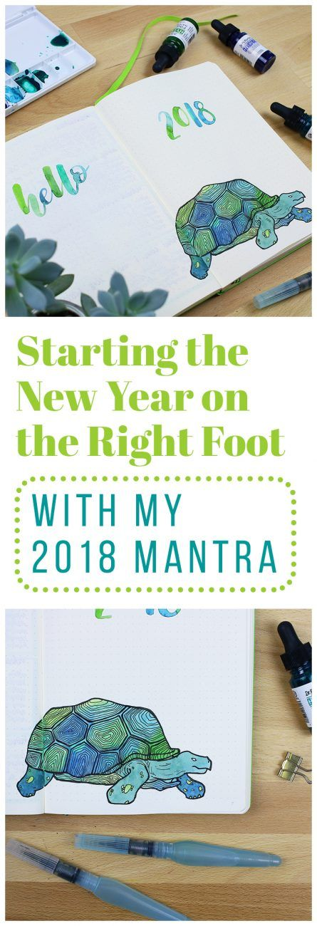 When starting the new year, it can be easy to get swept up in the productive energy. But if you don't have the right mentality, all that energy can end up being ineffective. That's why I created my 2018 mantra - this short and sweet saying perfectly encapsulates my goals and helps me direct my energy in the right direction! via @LittleCoffeeFox