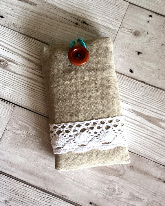 Linen & Lace Mobile Phone Case Mobile Phone cover Iphone