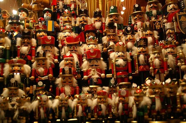 Birmingham's German Christmas Market happy nutcracker to you