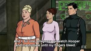 Pam kills me. Archer TV show