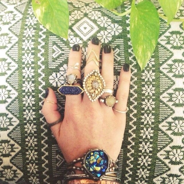 .@Penny Douglas People | Happy Thursday! #freepeople #jewelry #rings #boho