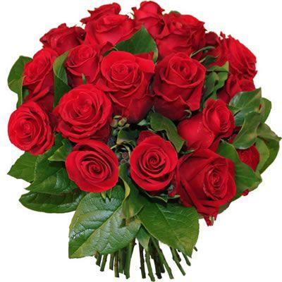 Bouquet de fleurs Saint VALENTIN Roses Rouges | Růže ...