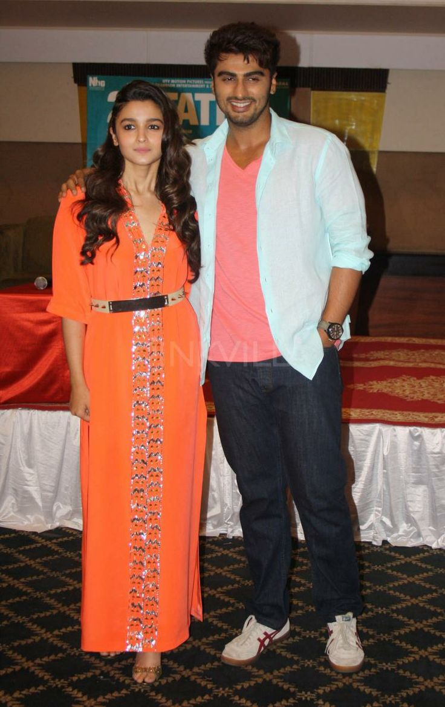 Arjun Kapoor Alia Bhatt promote 2 States in Lucknow   PINKVILLA