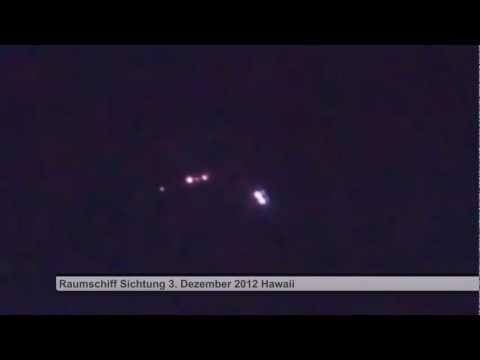 UFO Raumschiff Sichtung mit vielen Zeugen 3. Dezember 2012
