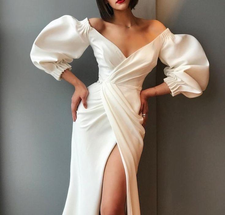 Kleid und weißes Bild#outfits#für #frauen#damen#…