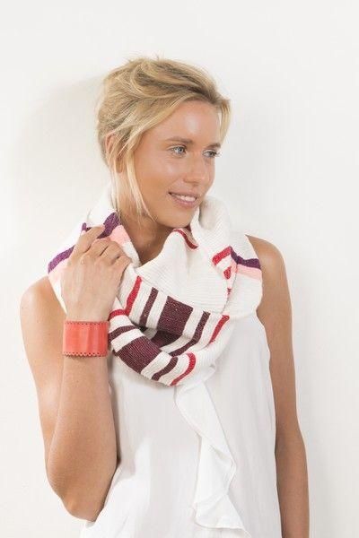 Snood & bracelet manchette - Dana Esteline