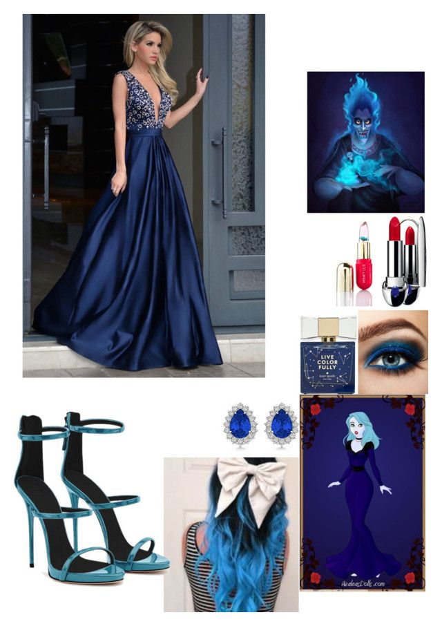 """""""Hades daughter"""" by bribear27 on Polyvore featuring Clinique, Kate Spade, Guerlain, Winky Lux, Allurez and Giuseppe Zanotti"""