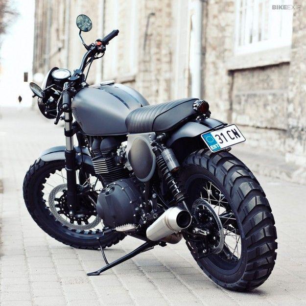 Bonneville T100 by Renard | Bike EXIF
