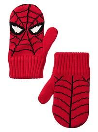 Junk Food™ superhero mittens Spiderman Gloves!!!