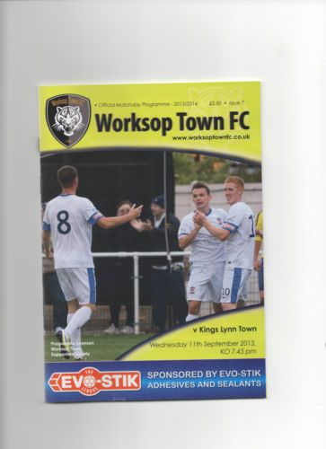 Worksop Town v Kings Lynn Town 2013-2014