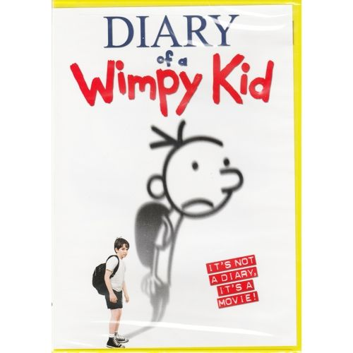 Diary of a Wimpy Kid (Comedy Movie DVD) Starring Zachary Gordon