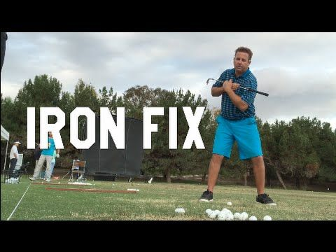 GOLF How to Hit irons long AND straight! Monte | BE BETTER GOLF - YouTube