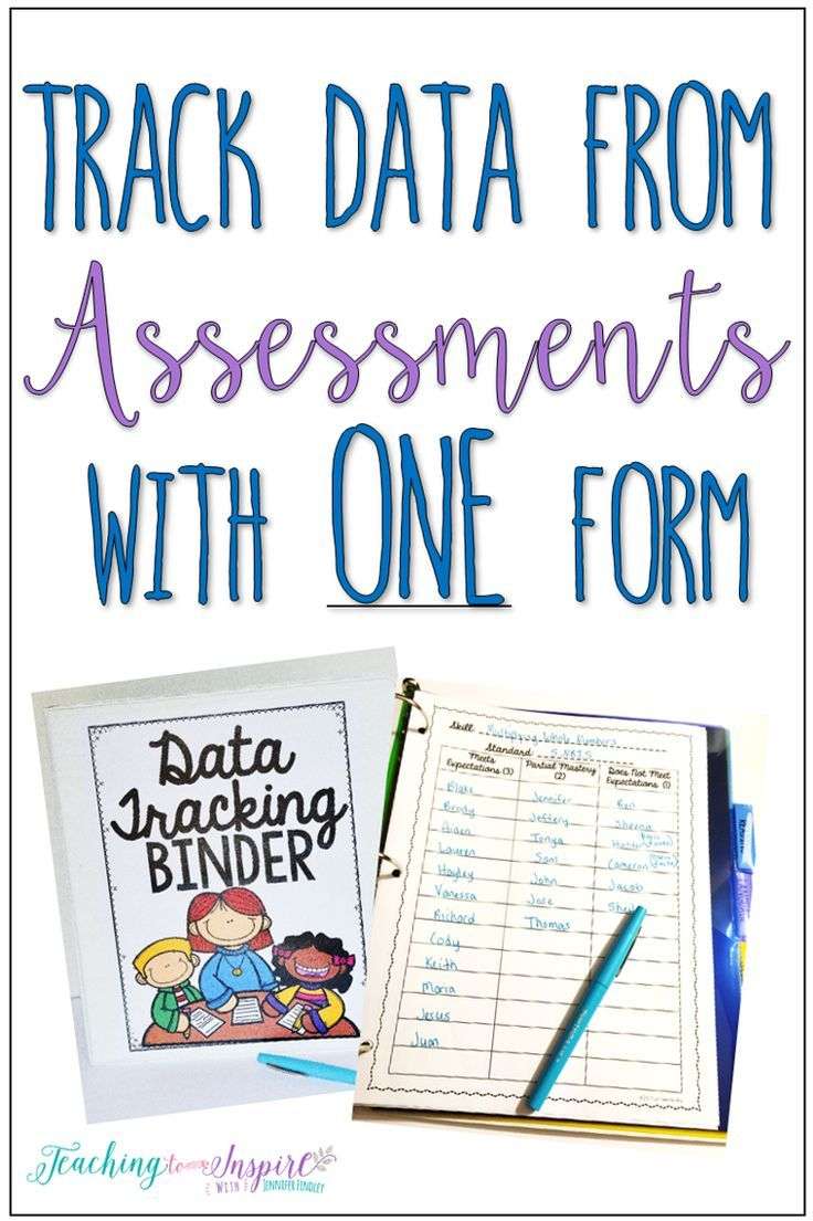This post shares a FREE data tracking form that is perfect to use after assessments- formal or informal. This form is perfect to track data in an effective, time-saving way.