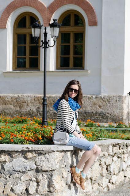#stripes #blue #denim #mint