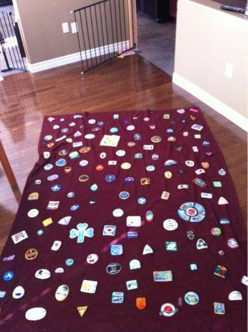 My camp blanket, a work in progress