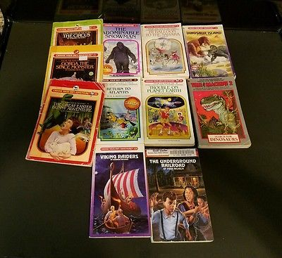 Lot 10 Choose Your Own Adventure Series Books 1 Time Machine