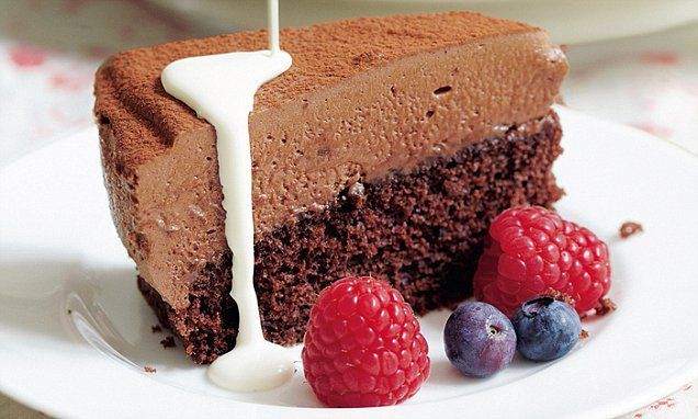 This is a wonderful dessert for a celebration as it is rich and indulgent and would make a stunning centrepiece.