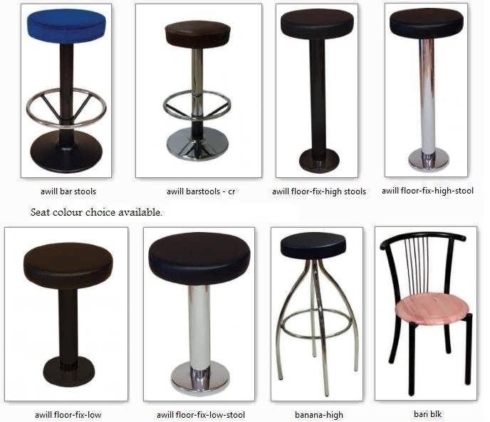 Bistro Bar Furniture Bolt Down Floor Fix Barstools