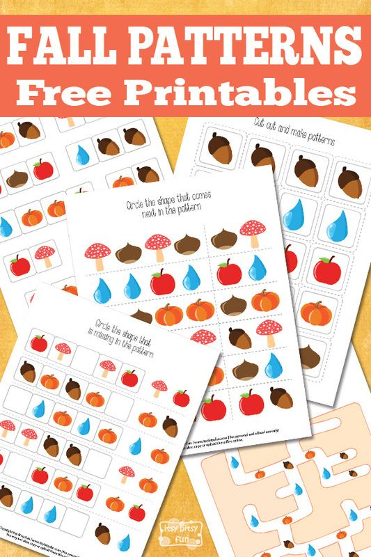 Fall Patterns Free Printable