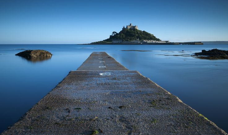 Beautiful @St Michael's Mount , @National Trust  by Robert Kendall. #Cornwall