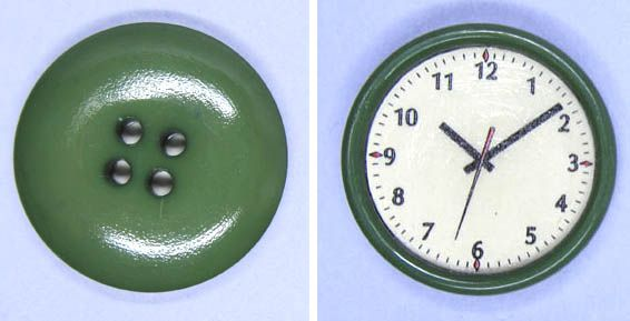 Blue Kitty Miniatures: Quick Make - Dollhouse Wall Clock