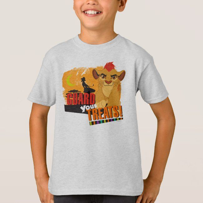 Lion King Halloween Party 2020 Guard your Treats T Shirt   Zazzle.in 2020   Shirts, Party
