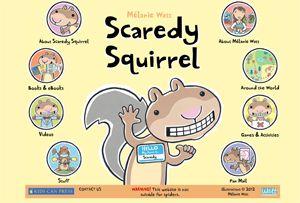 Scaredy Squirrel website                                                                                                                                                                                 Más