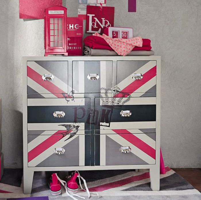 a tenter de reproduire sur commode blanche ikea on y c j 39 ai 9 ans et je veux une chambre. Black Bedroom Furniture Sets. Home Design Ideas