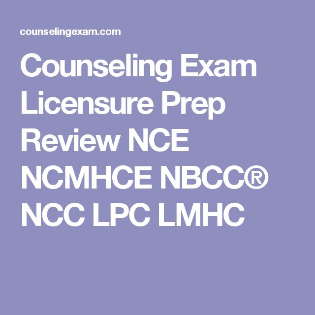 NCE Practice Exam - National Counselor Practice Test