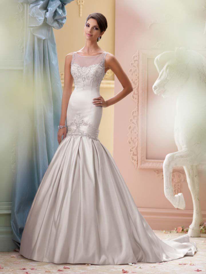14 best Wedding Dresses images on Pinterest | Wedding bridesmaid ...