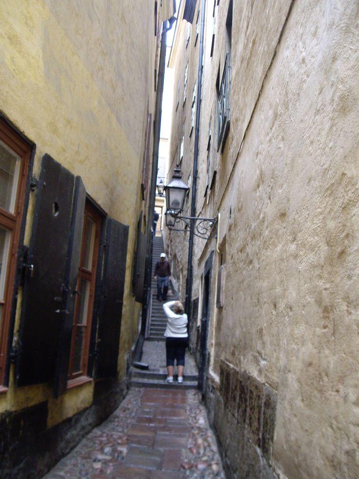 La plus petite rue de Stockholm