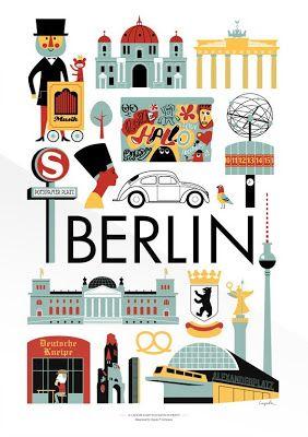 Berlin #map #travel