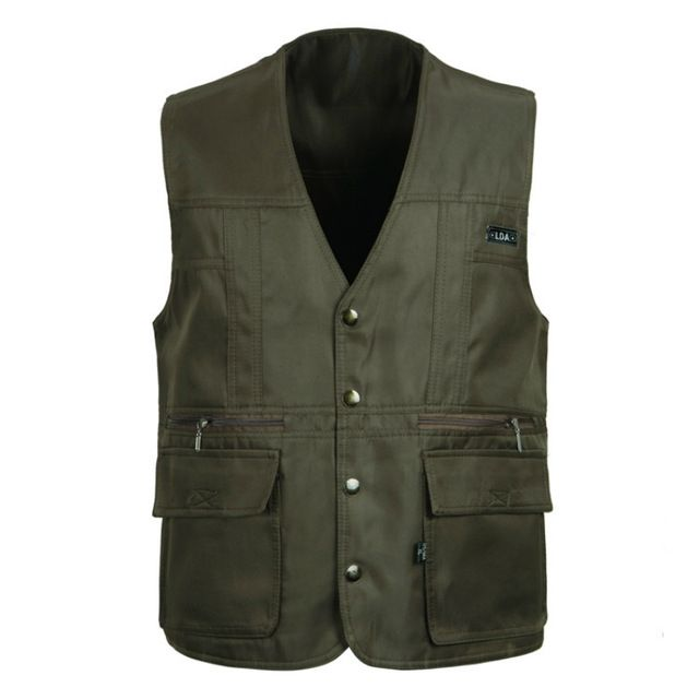 Promotion price SHOWERSMILE Brand Mens Outerwear Vests Photography Field Cheap Waistcoat Casual Travel Gilet With Many Pockets Army Green Jacket just only $20.39 with free shipping worldwide  #jacketscoatsformen Plese click on picture to see our special price for you