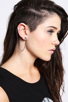 Astonishing 1000 Ideas About Shaved Side Hairstyles On Pinterest Side Short Hairstyles Gunalazisus