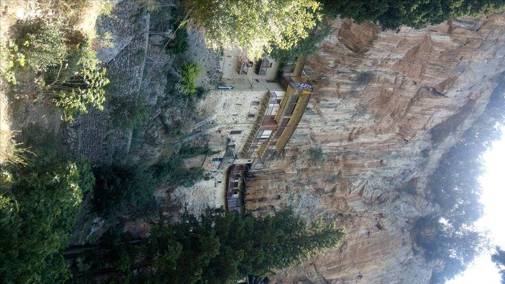 The hidden monastery of Prodromou in Lousios gorge!