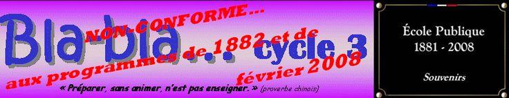 Accueil : bla-bla cycle 3